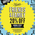Kiehl's Friends & Family: Get 20% Off