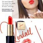 Kendall Jenner Launches Limited Edition Lipstick