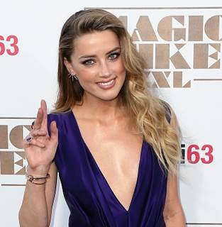 The Trick To Amber Heard's Bronzey Victoria's Secret-esque Eye At The'Magic Mike XXL' Premiere