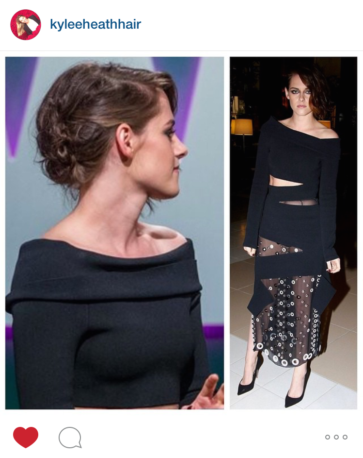 The Trick To Kristin Stewart's Rock & Roll 'Do At The Women in Film Awards