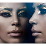 Kim Kardashian Serves Elizabeth Taylor-style Cleopatra Realness For Violet Grey