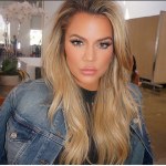Khloe Kardashian Sports Mega Lashes And A Nude Lip On Instagram