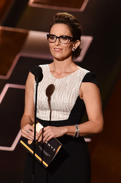 Tina Fey's Edgy Emmys 2015 Updo: How To Get The Look