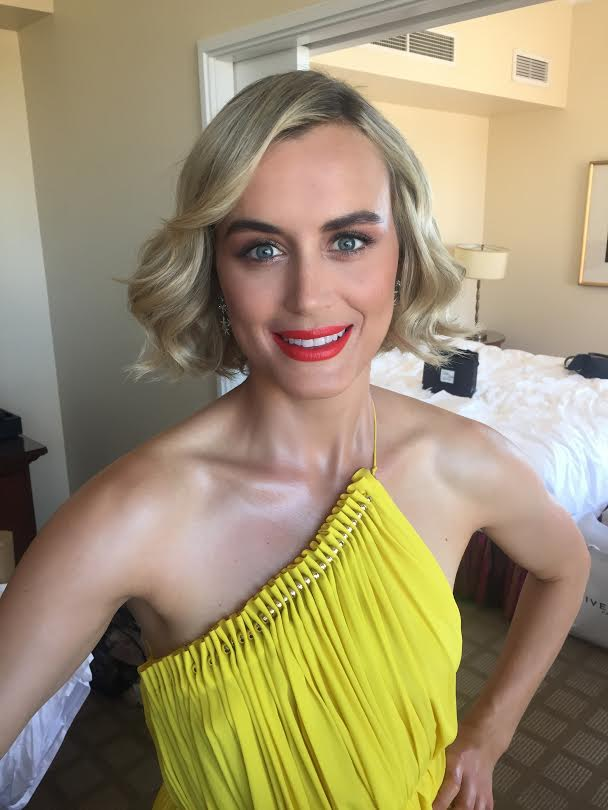 The Trick To Taylor Schilling's Stunning Emmys 'Do