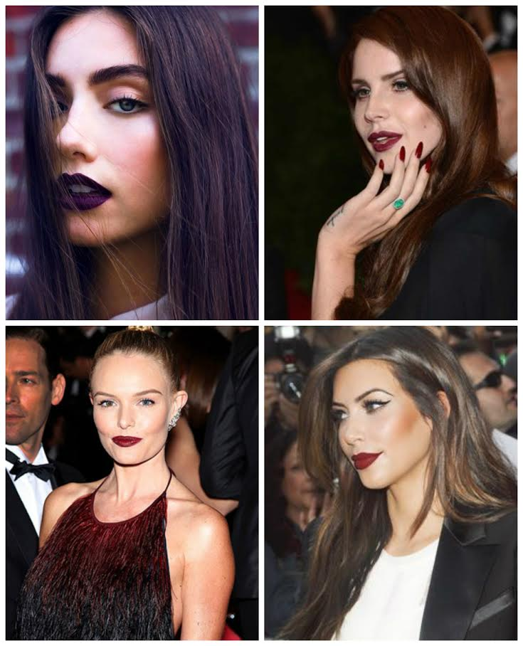 Vampy Lipsticks You Need Now