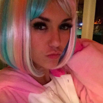 Nina Dobrev Dons Some Post-Halloween Wigs