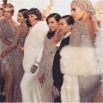 Kris Kardashian's Gatsby Birthday Pics