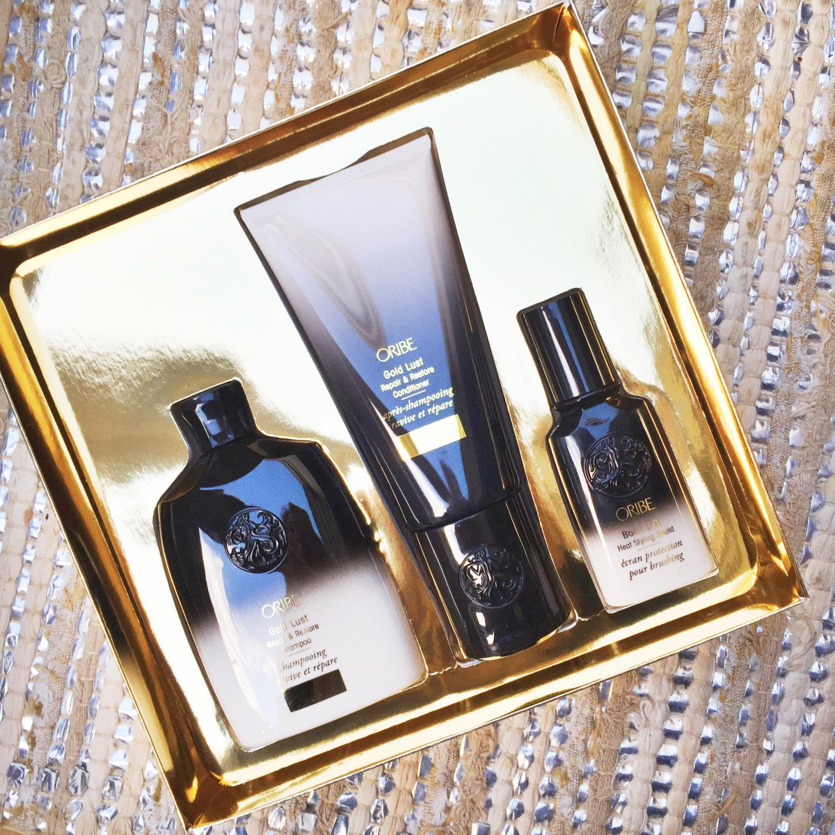 Giveaway: Oribe Gold Lust Set