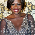 The Trick To Viola Davis' Navy Eye Makeup Look