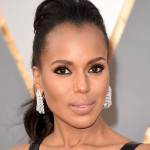 Kerry Washington's Stunning Hair & Makeup For The Oscars