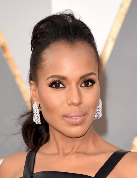 Kerry Washington's Stunning Hair & Makeup For The Oscars