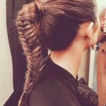 How To Recreate Olivia Culpo's Major Fishtail Braid