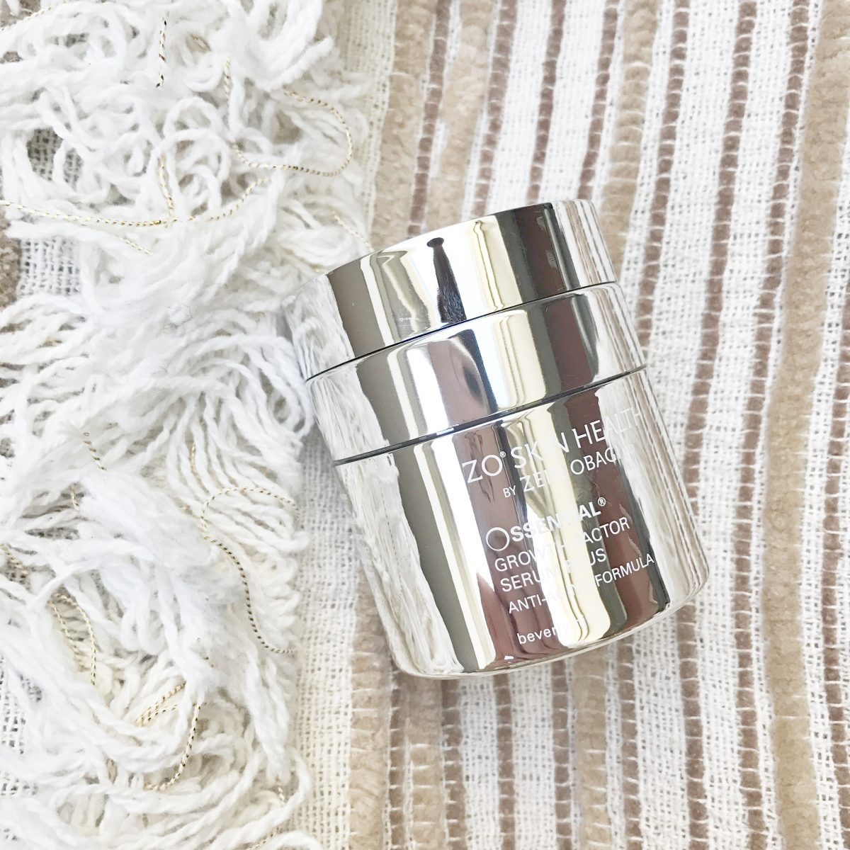 The Weekly Edit: ZO Skin Health Ossential Growth Factor Serum Plus