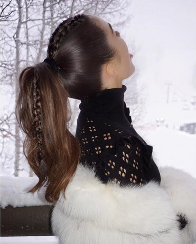 You Need To Don Olivia Culpo's Braided Ponytail, Like, Now