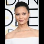 The Trick To Thandie Newton's Golden Globes Hairstyle