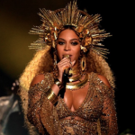 The Secret To Beyonce's Golden Goddess Grammys Makeup