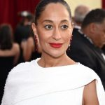 The Secret To Tracee Ellis Ross' Minimalistic, Red Lip-Focused SAGs Look
