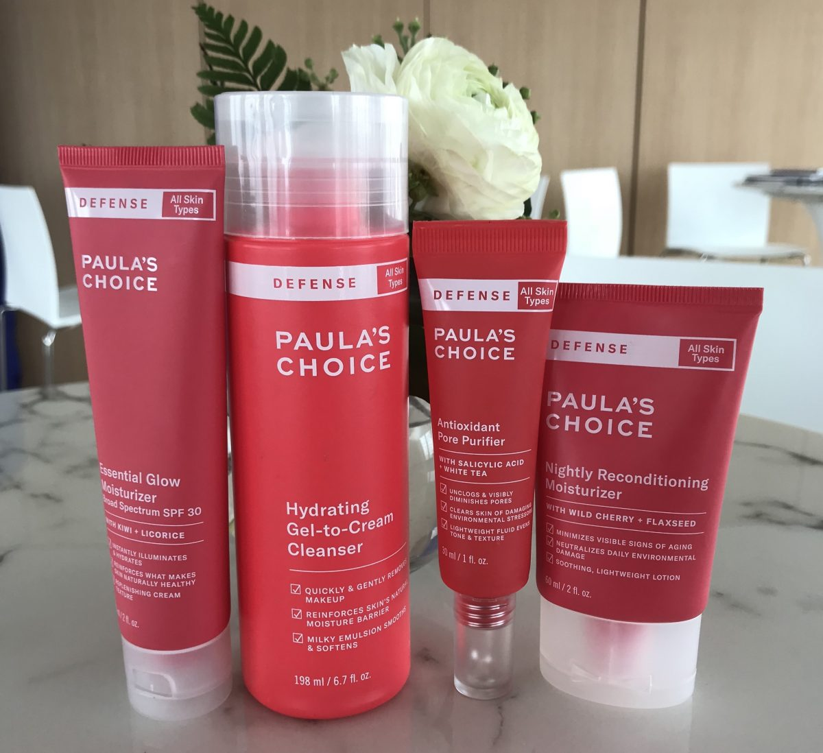 Blue Light, Ground Ozone, And Car Exhaust Are Harming Your Skin Every Day: Paula's Choice New Defense Line Can Help