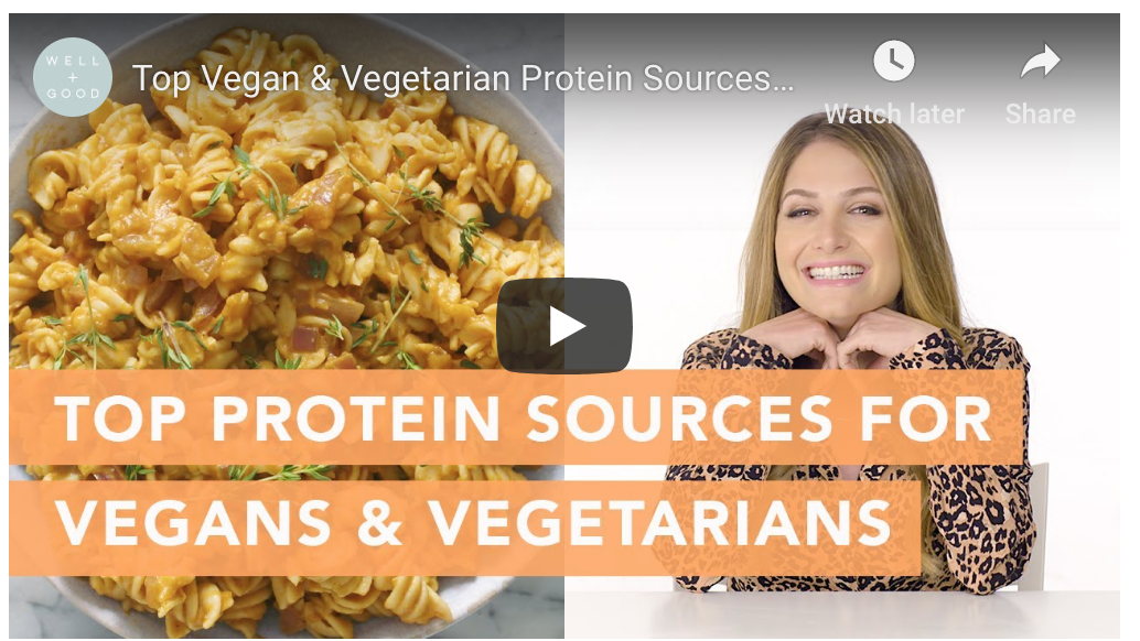 Motivate Monday, Because Vegetarians Can Get Protein Too