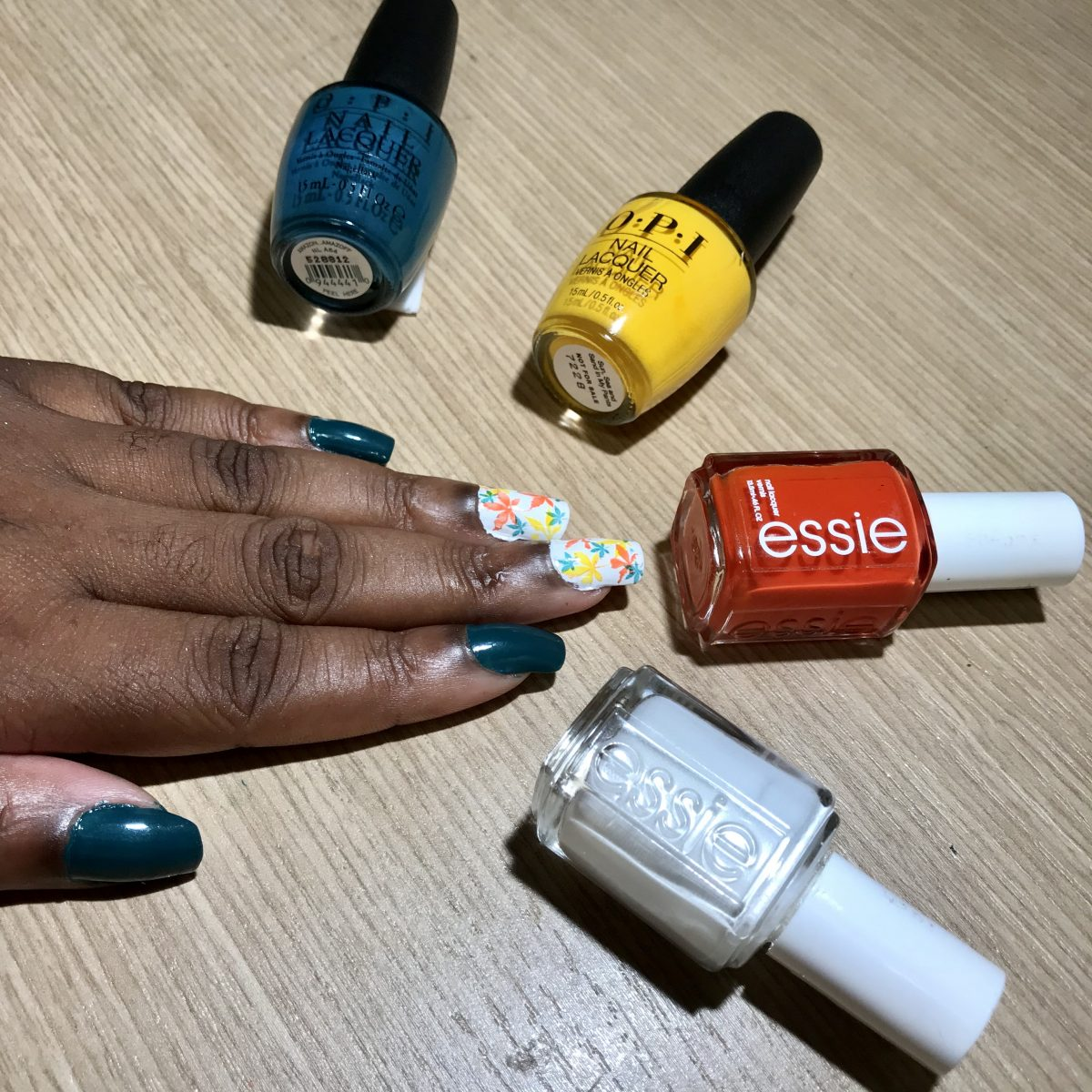 Mani of the Week: Autumn Leaves