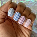 Mani of the Week: Gradient Pastel Gingham