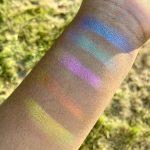 Finally! Iridescent Makeup for Deep Skin Tones