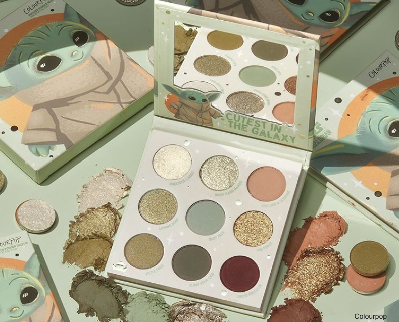 Breaking Beauty News: Colourpop Baby Yoda Palette, Melt Beetlejuice Collection & More!