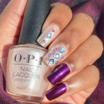 Mani of the Week: Holiday Crystal Nails with OPI's Shine Bright 2020 Collection